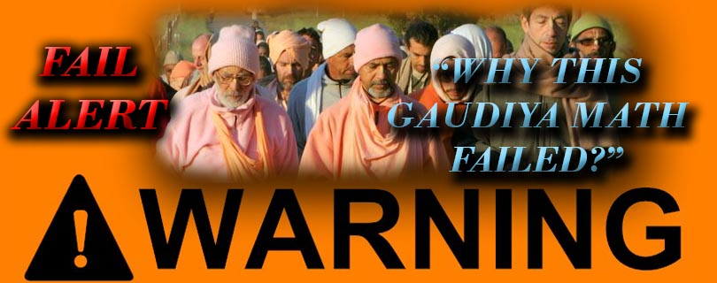 why gaudiya math failed warning sign featured img